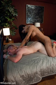 kinky ts Jade fucks guy's ass